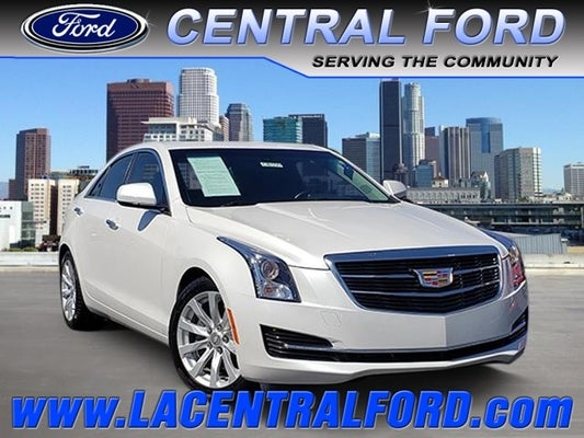 Used Cadillac Ats Sedan South Gate Ca